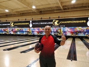 Ikompli s-suċċess ta' Mark Spiteri fit-ten-pin bowling