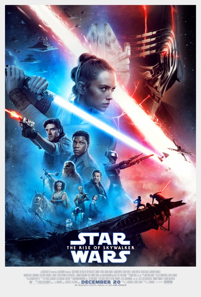 Poster ta' Star Wars: The Rise of Skywalker